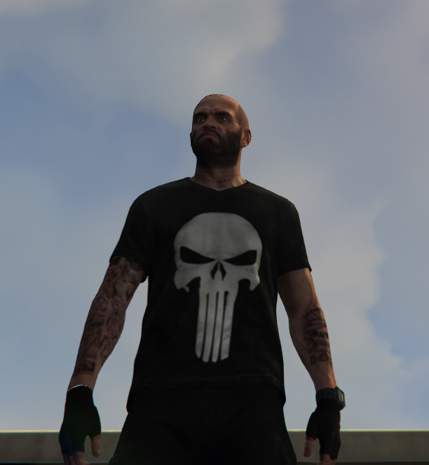 Punisher Clothes For Trevor - GTA5-Mods.com