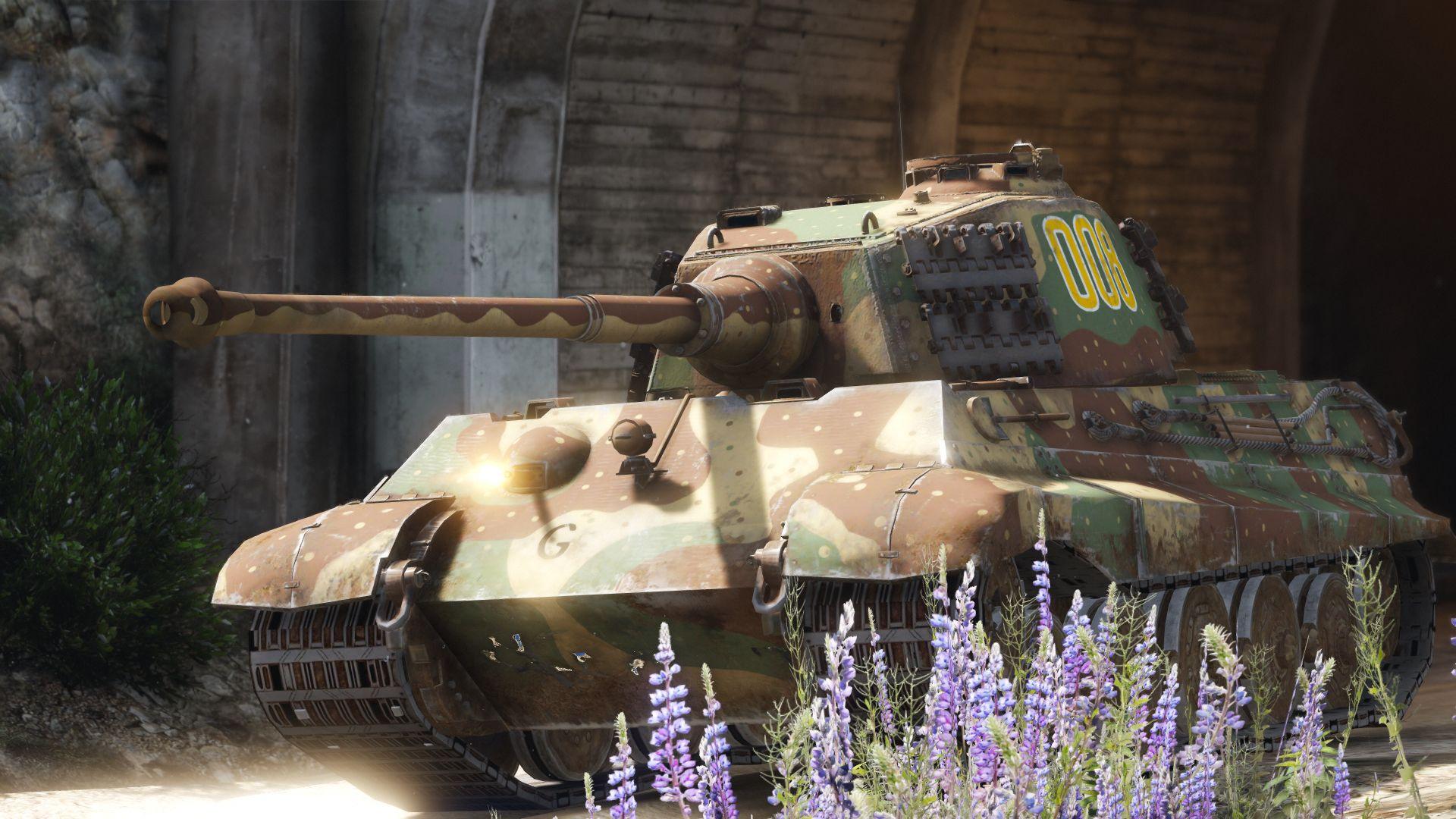 Pz Kpfw  VI Tiger II Ausf  B (H) (Add-On) - GTA5-Mods com