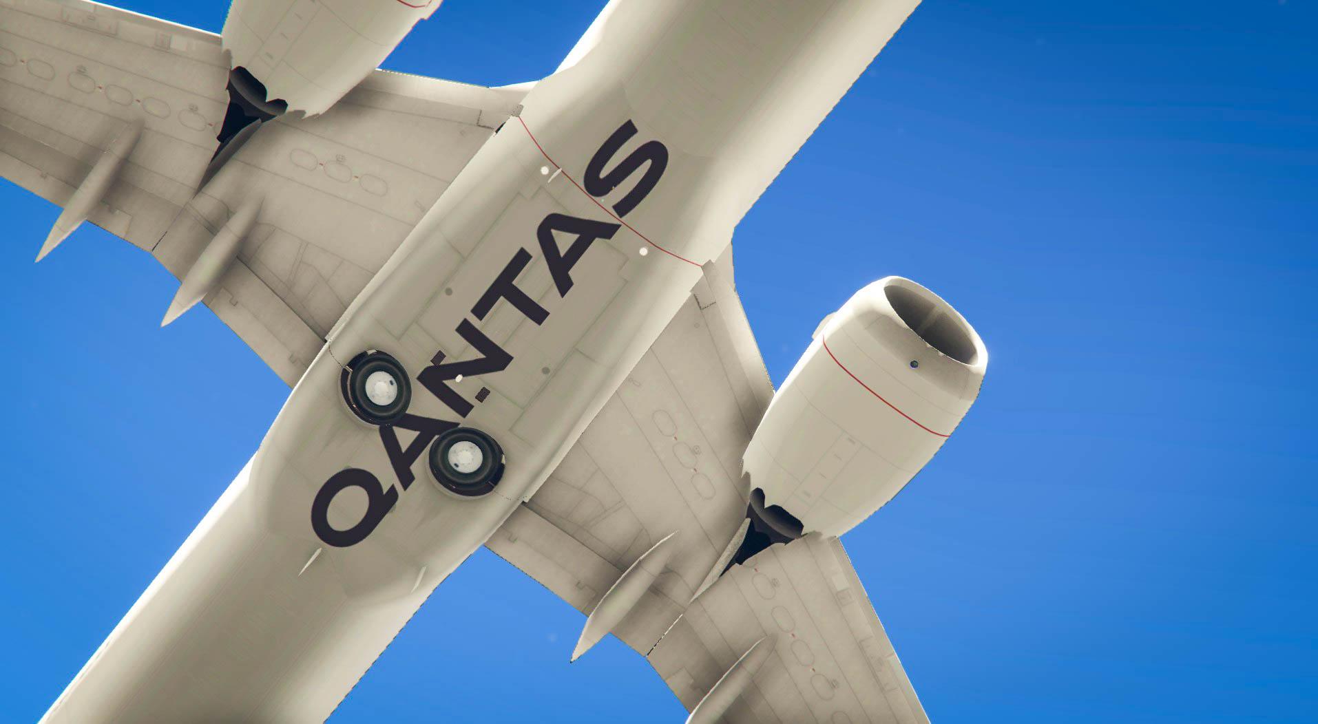 Qantas Boeing 737 MAX 9 - GTA5-Mods com
