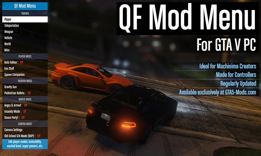 QF Mod Menu - GTA5-Mods com