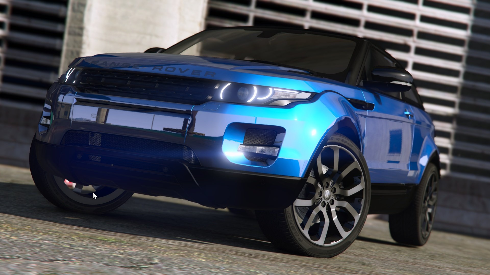 Range Rover Evoque [Add-on / Replace   Tuning   Template