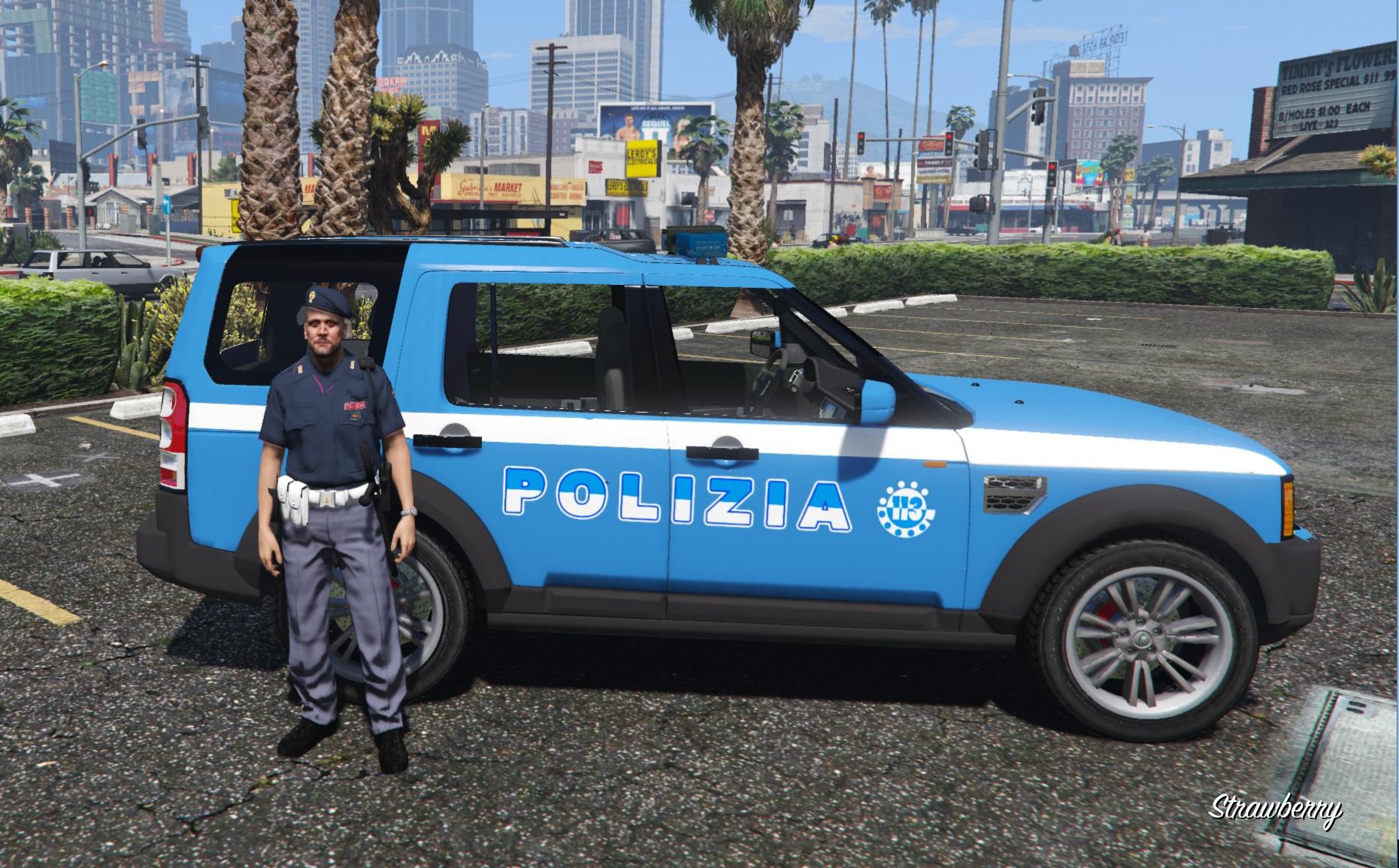 Range Rover Santa Monica >> Range Rover Polizia - GTA5-Mods.com