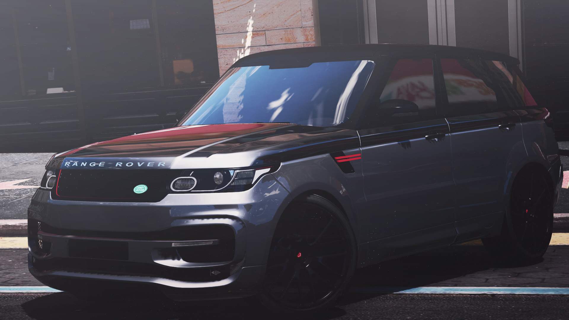 range rover sport startech 2016 add on animated templated gta5. Black Bedroom Furniture Sets. Home Design Ideas