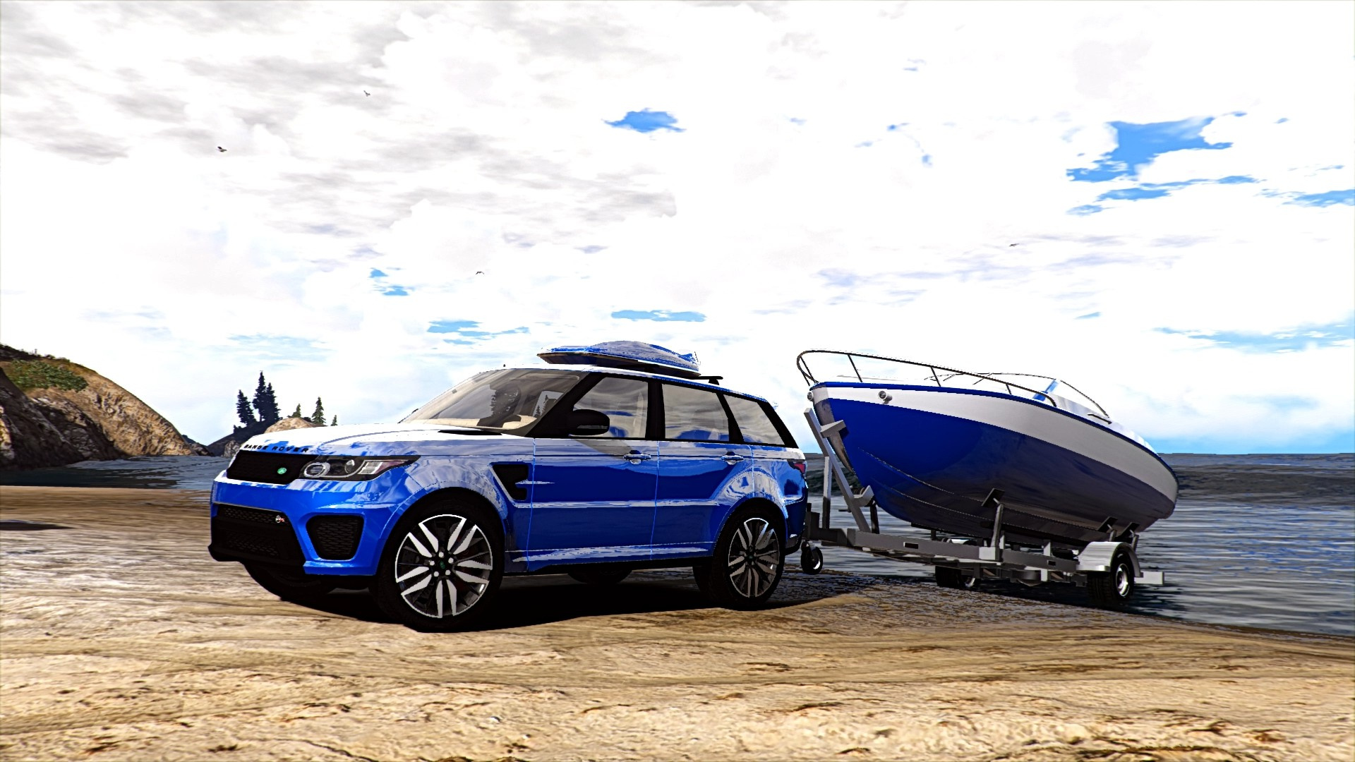 Range Rover Sport Svr 2016 Animated Templated Add On Gta5
