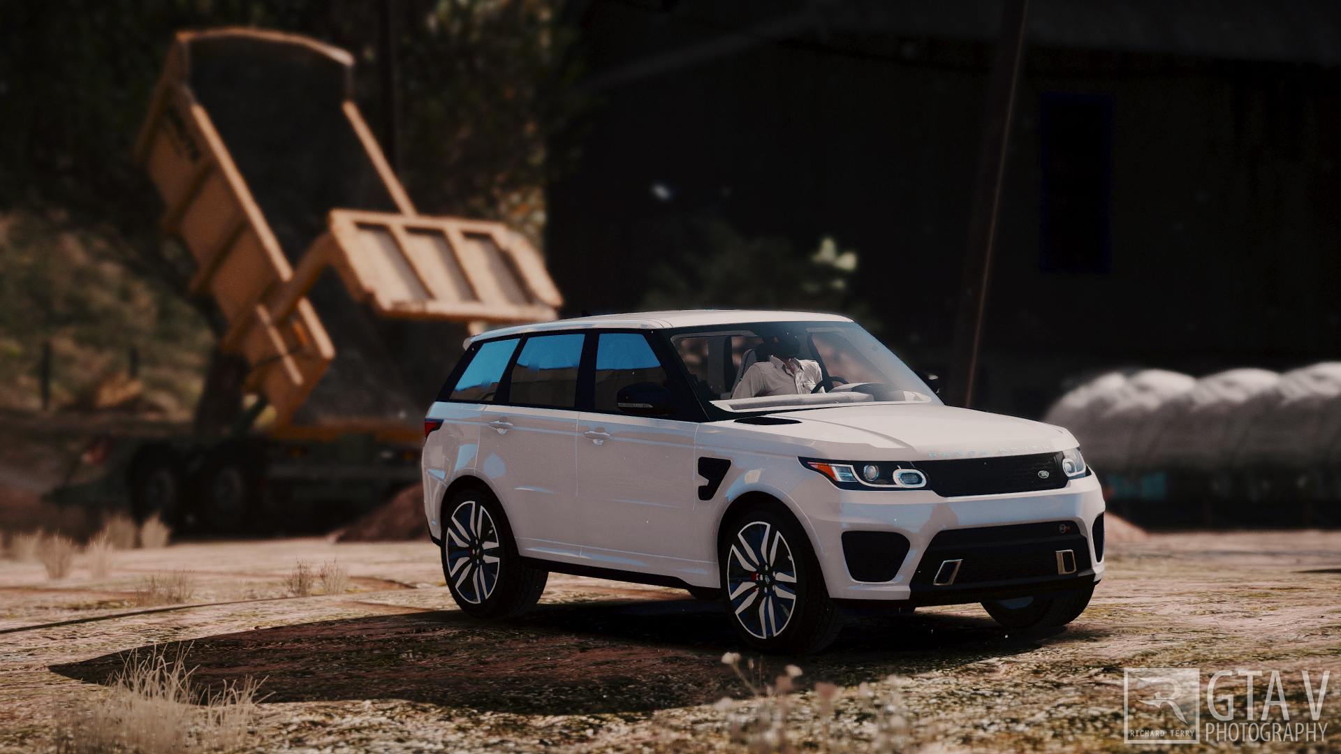 Range Rover Sport SVR 2016 Animated Templated Add GTA5
