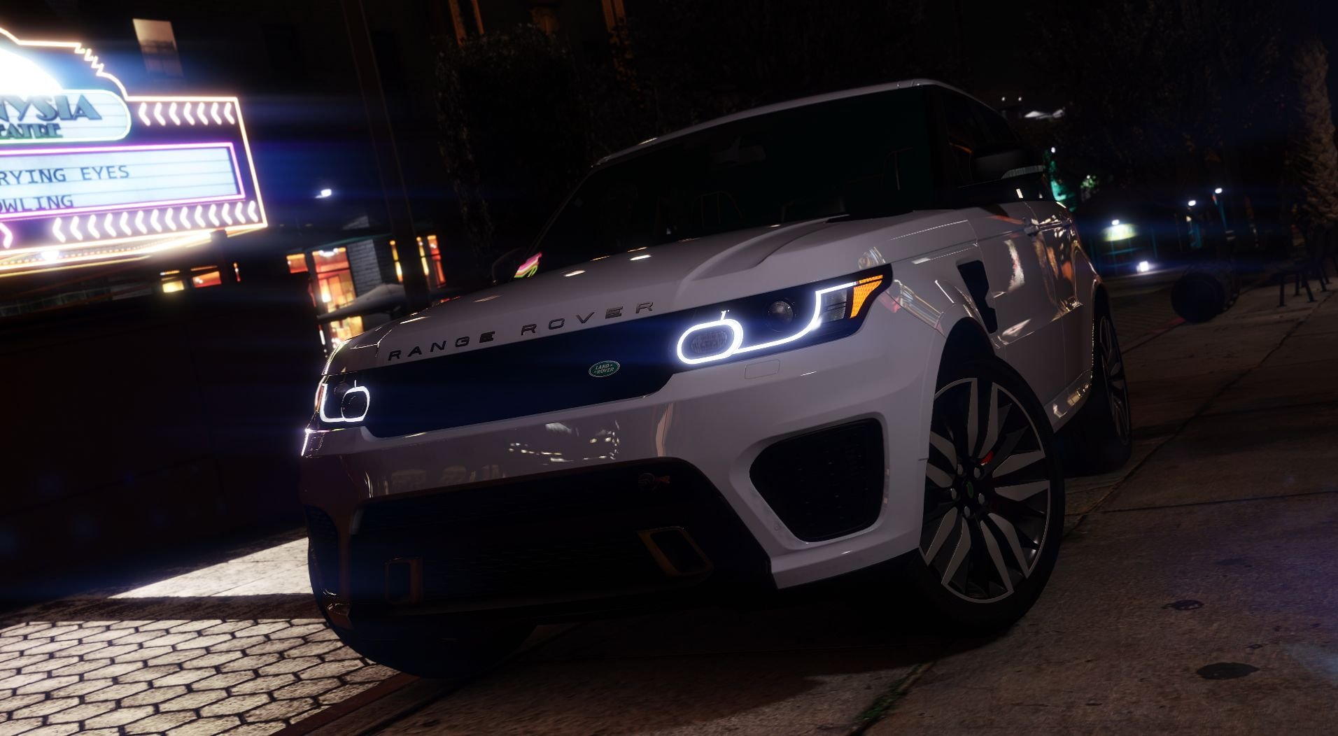Range Rover Sport Svr 2016 Animated Templated Add On