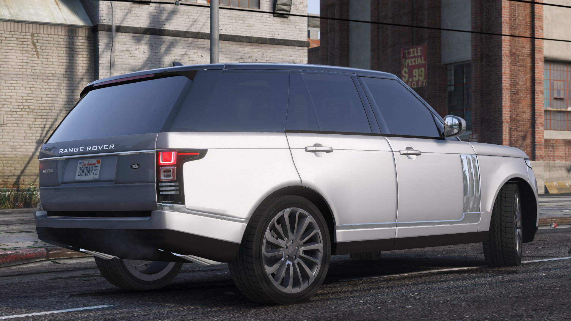 2013 range rover vogue gta5. Black Bedroom Furniture Sets. Home Design Ideas
