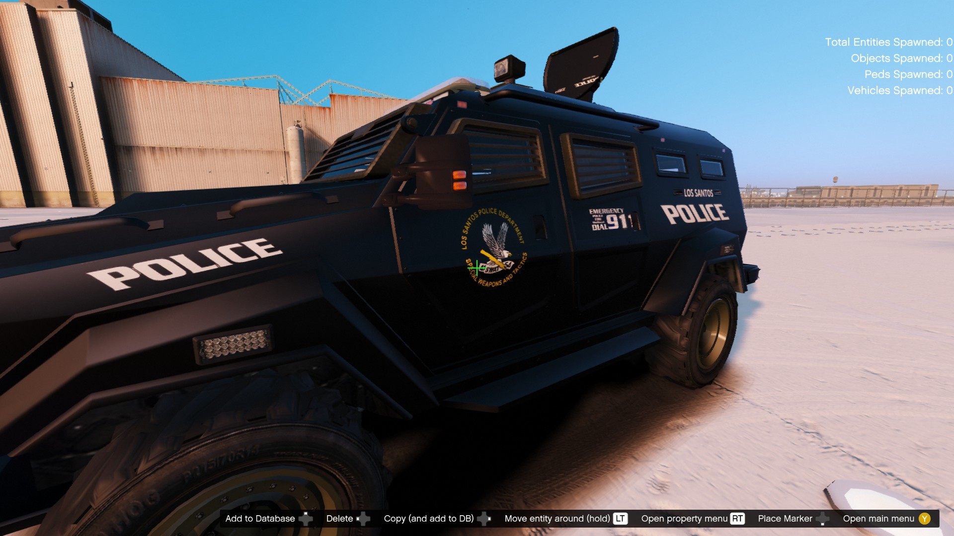 Rcmp Opp Lspd Light Armoured Police Vehicle Els Gta5