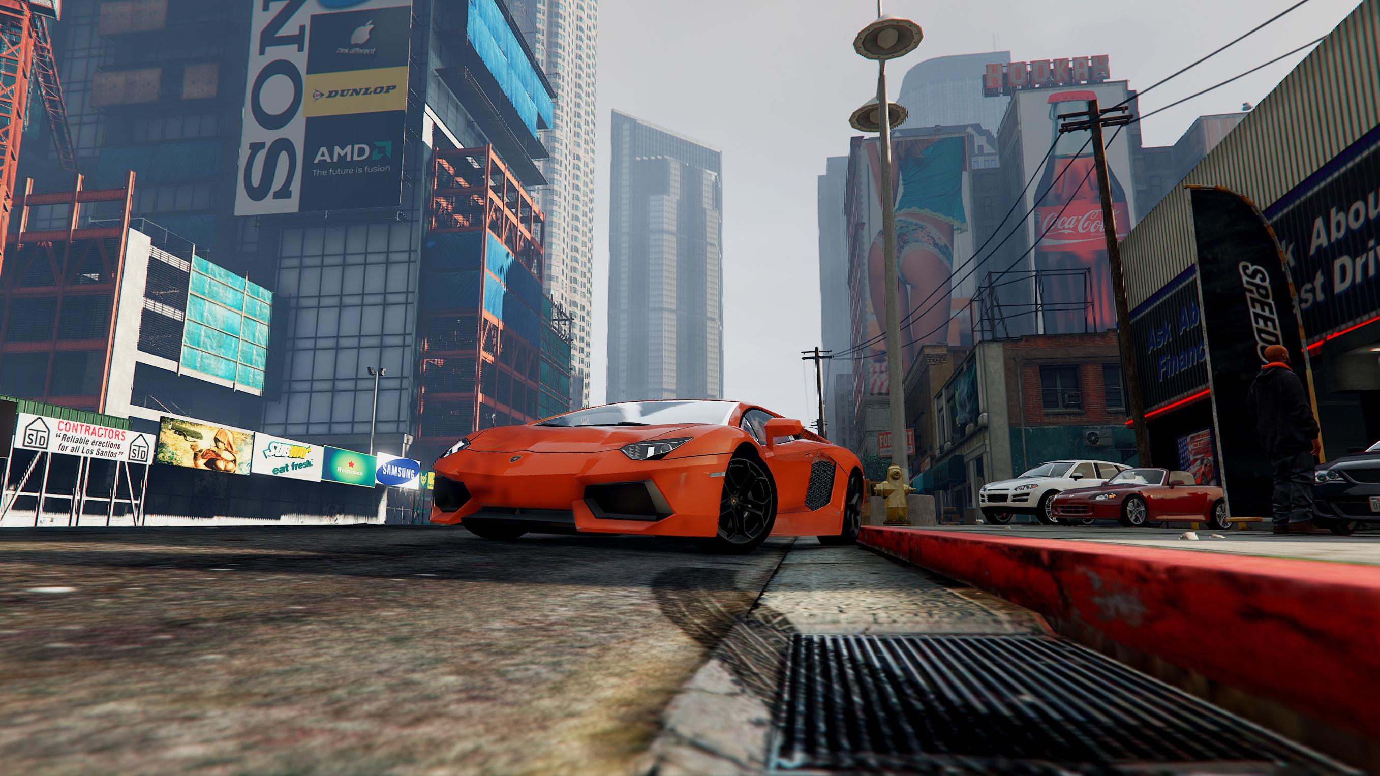 Real Billboards / Werbeplakate [OIV] - GTA5-Mods com