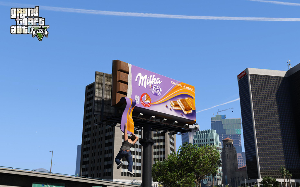 LA Billboards - Real LA - MegaPack Add-On - GTA5-Mods com
