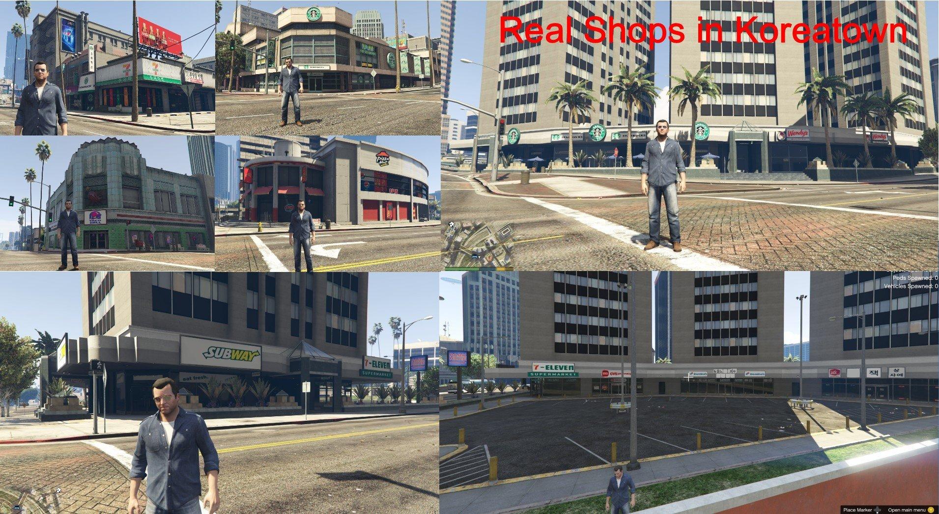 los santos gta 5 real life