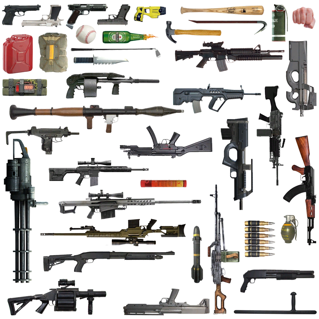 Real Weapon Icons