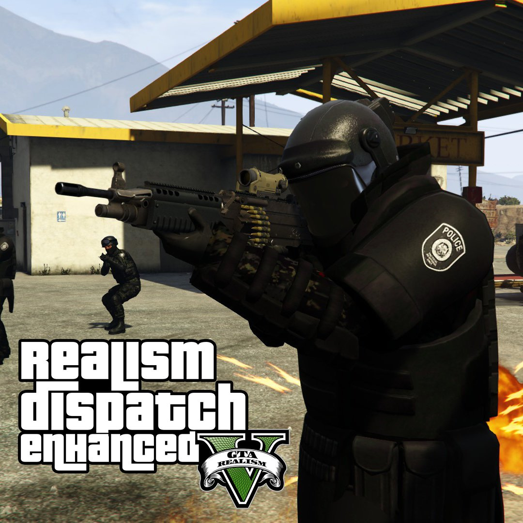 Realism Dispatch Enhanced - Five Star Response Script Addon