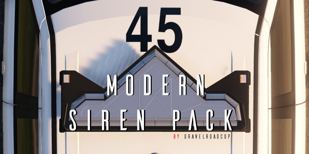 Modern Siren Pack (OIV Supported ) - GTA5-Mods com
