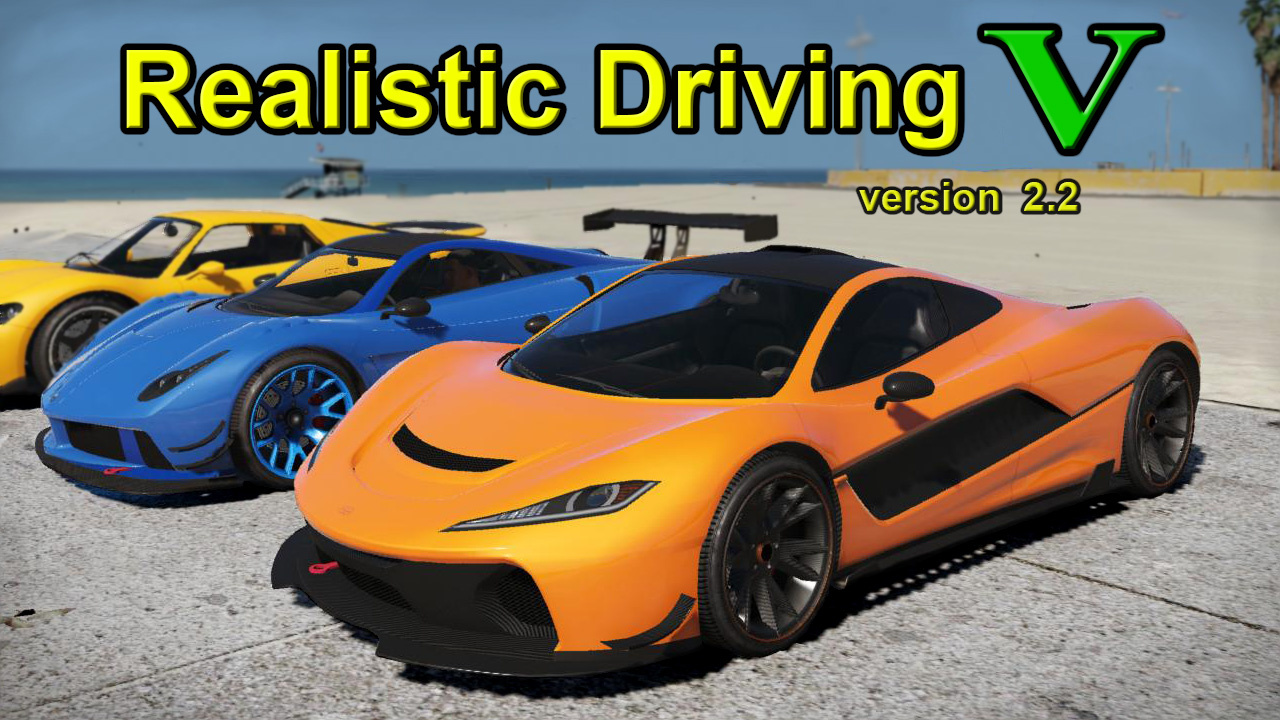 realistic driving v gta5 mods com