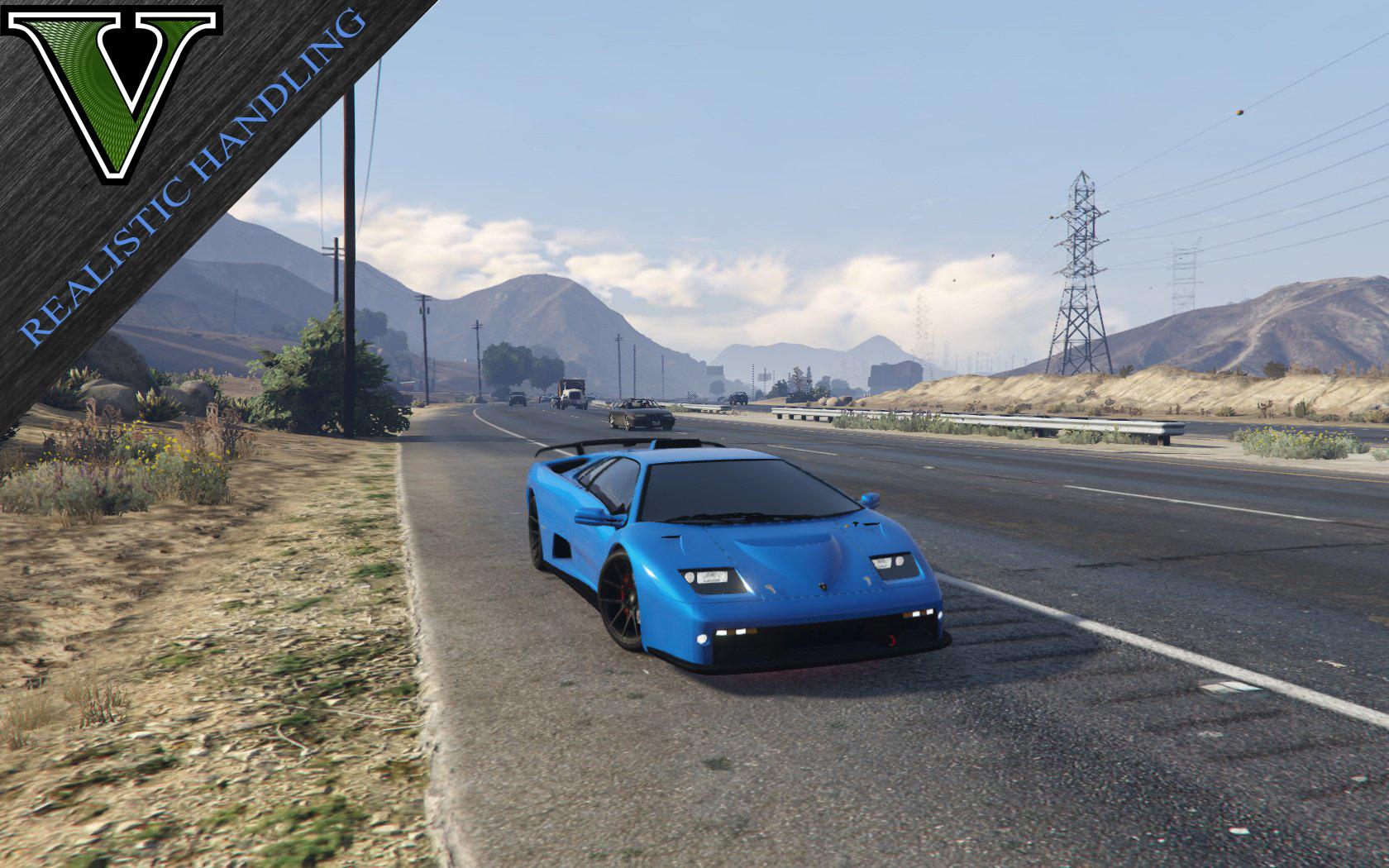 Realistic Handling Engine Sound Swap For Lamborghini Diablo Gtr