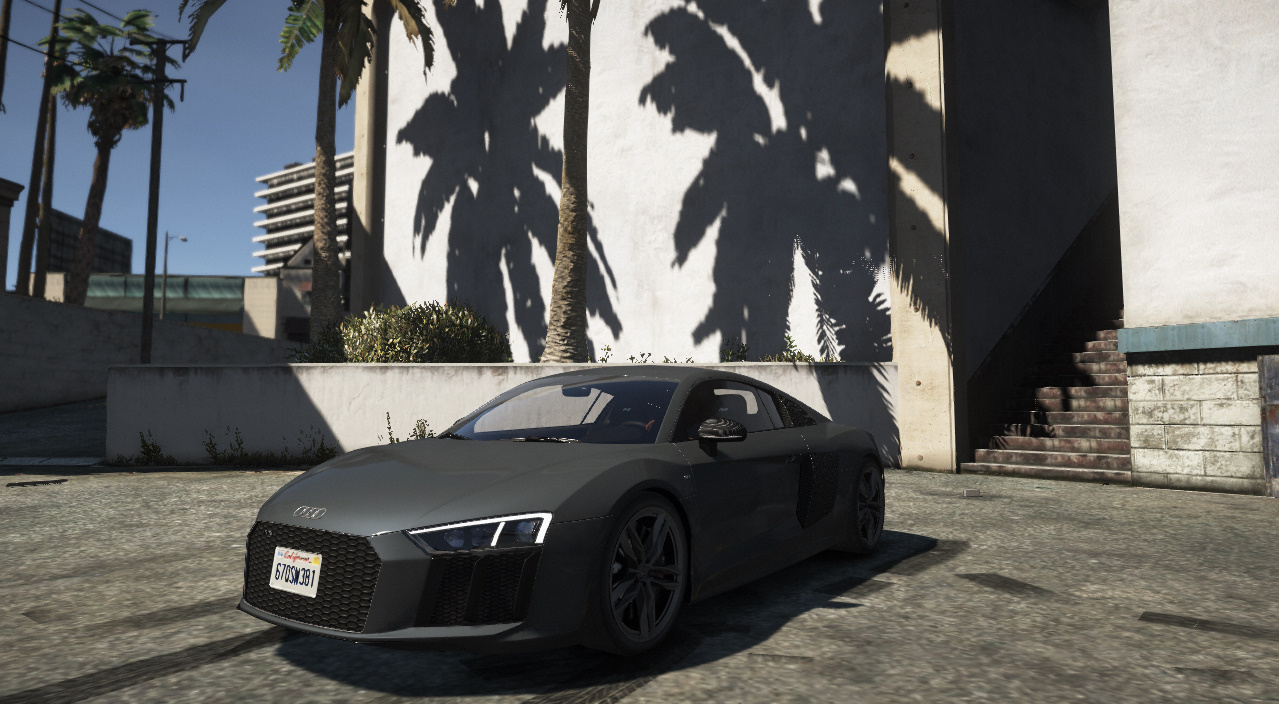 Realistic Handling For AUDI R V PLUSTop Speed Kmh GTAModscom - Audi r8 top speed