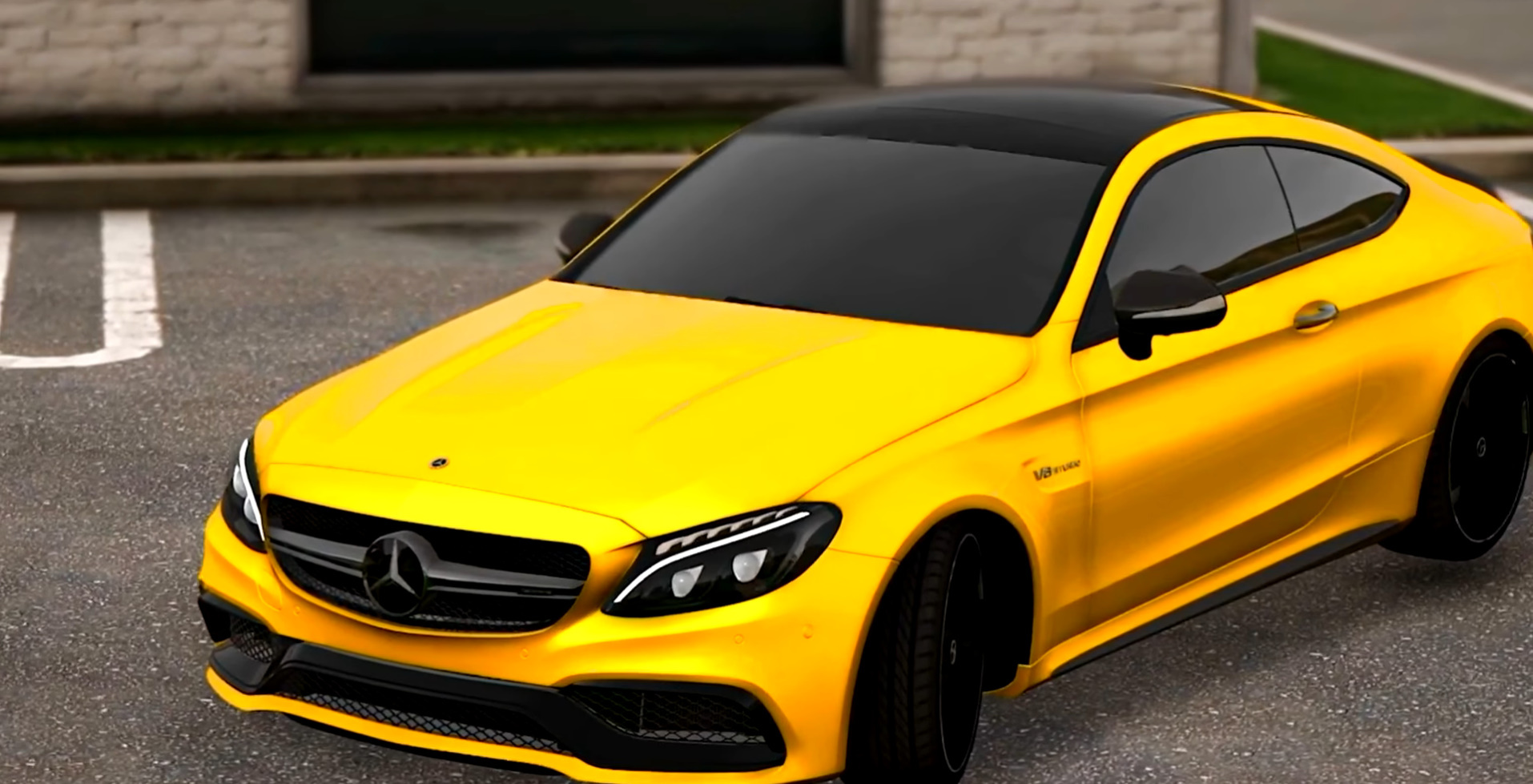 Realistic Handling For Mercedes Benz Amg C 63 S Coupe Top Speed 297kmh Gta5 Mods Com
