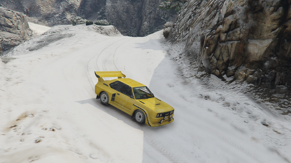 Realistic Snow Traction GTAModscom - Guy takes pictures showing just realistic grand theft auto v looks