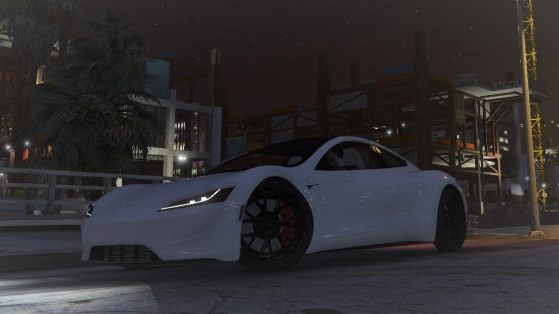 2020 Tesla Roadster >> Realistic Tesla Roadster 2020 Handling Gta5 Mods Com