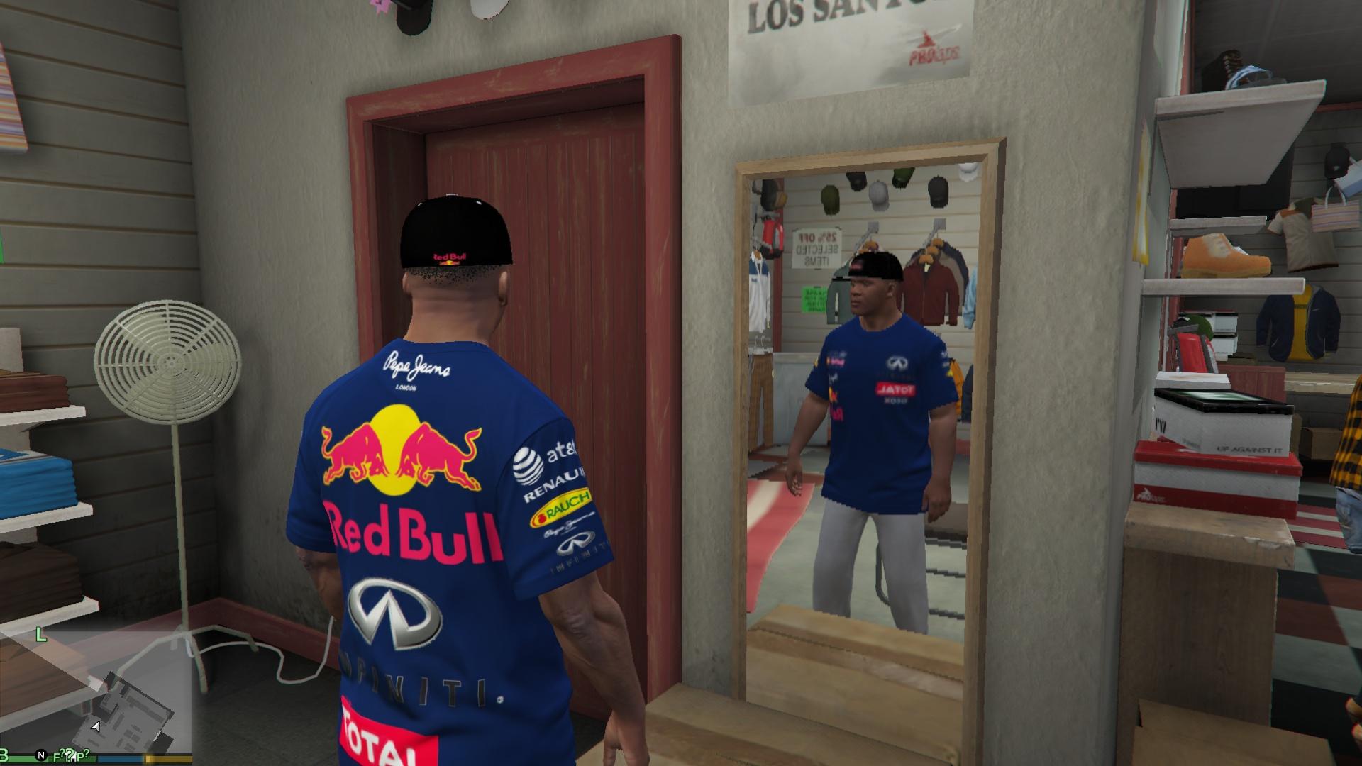 ed61d8a8 Red Bull Racing Clothing Pack - GTA5-Mods.com