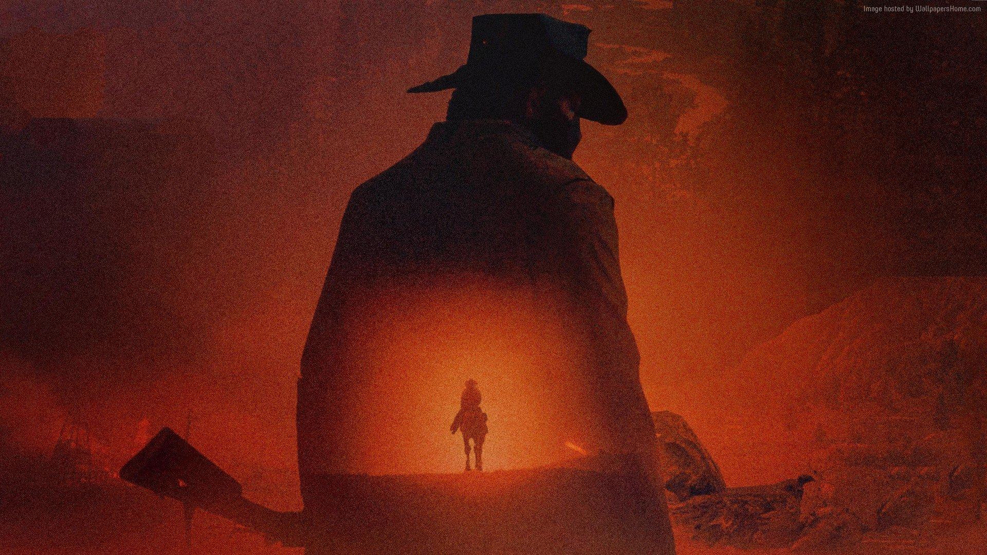 A09B97 Red Dead Redemption 2 1920X1080 Poster Artwork 4K 18204