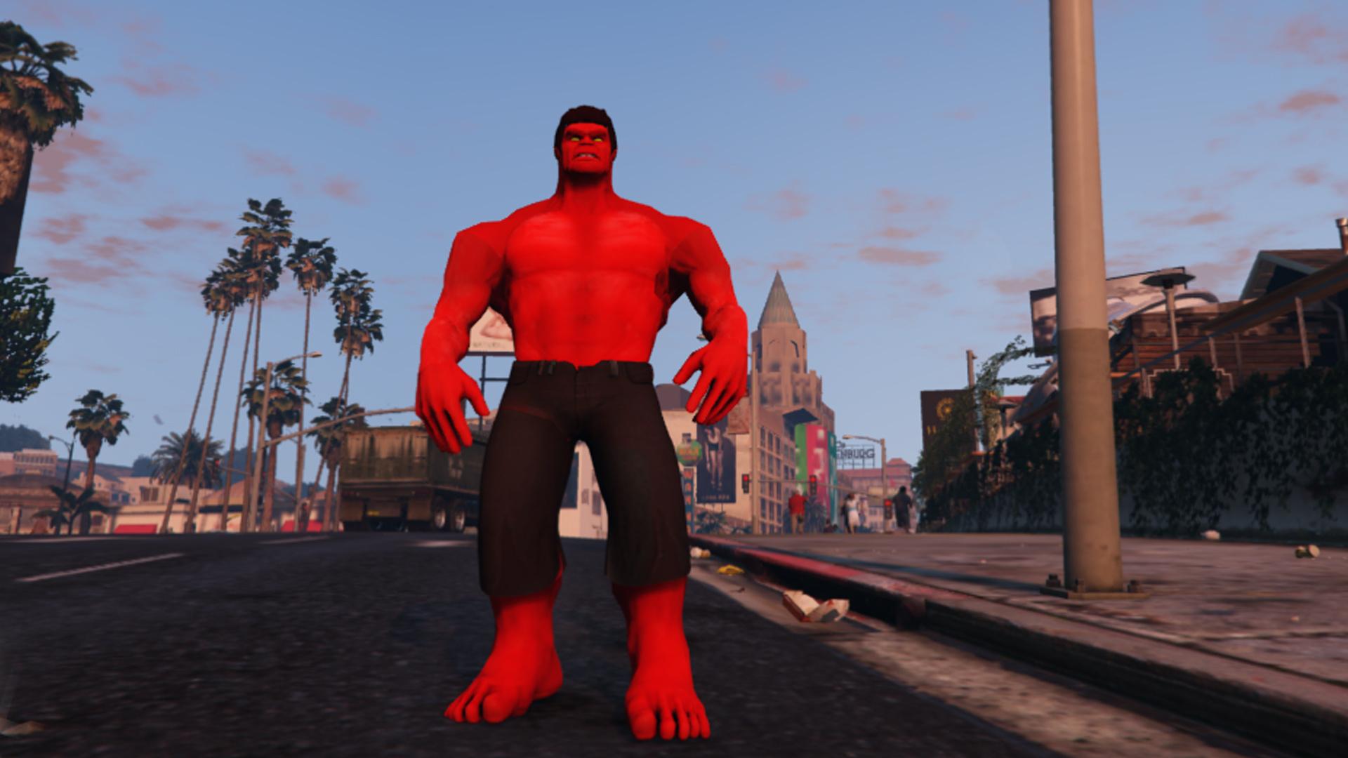 Ba Red Hulk