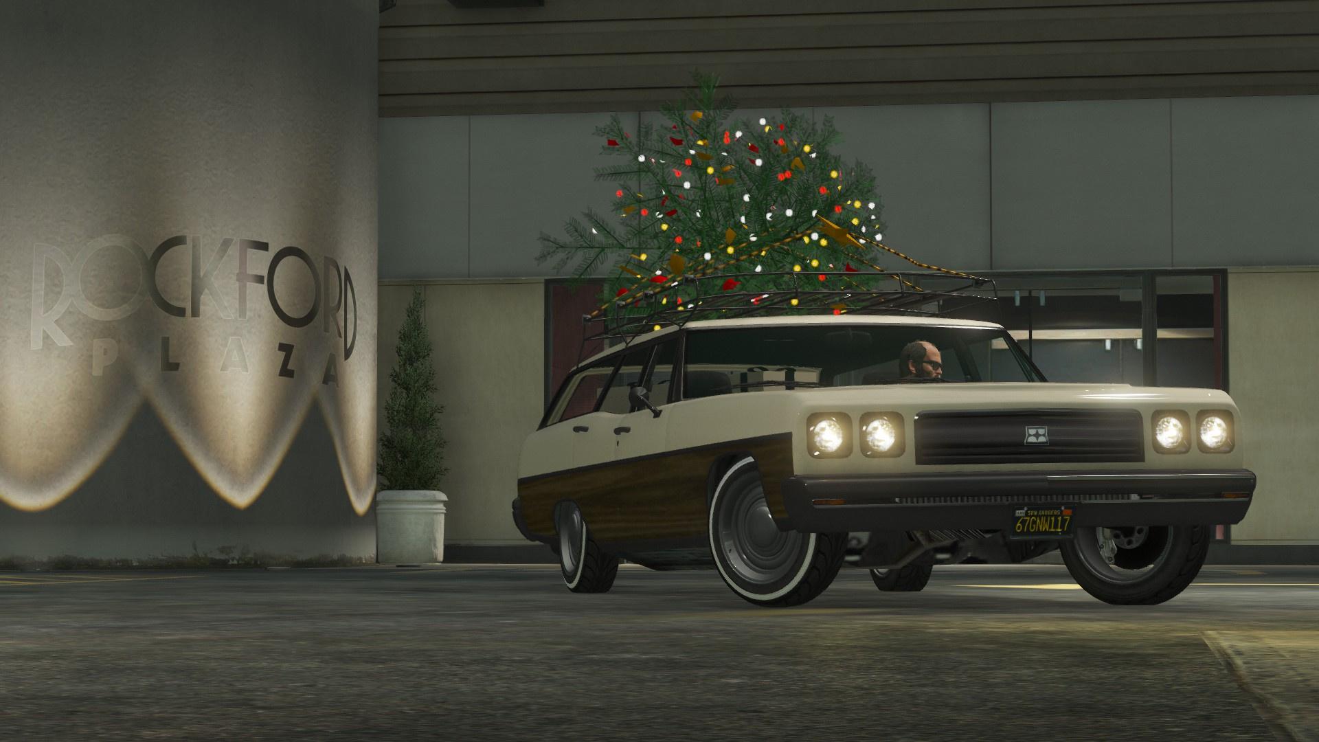 Regina Christmas Car Add On Replace Gta5 Mods Com