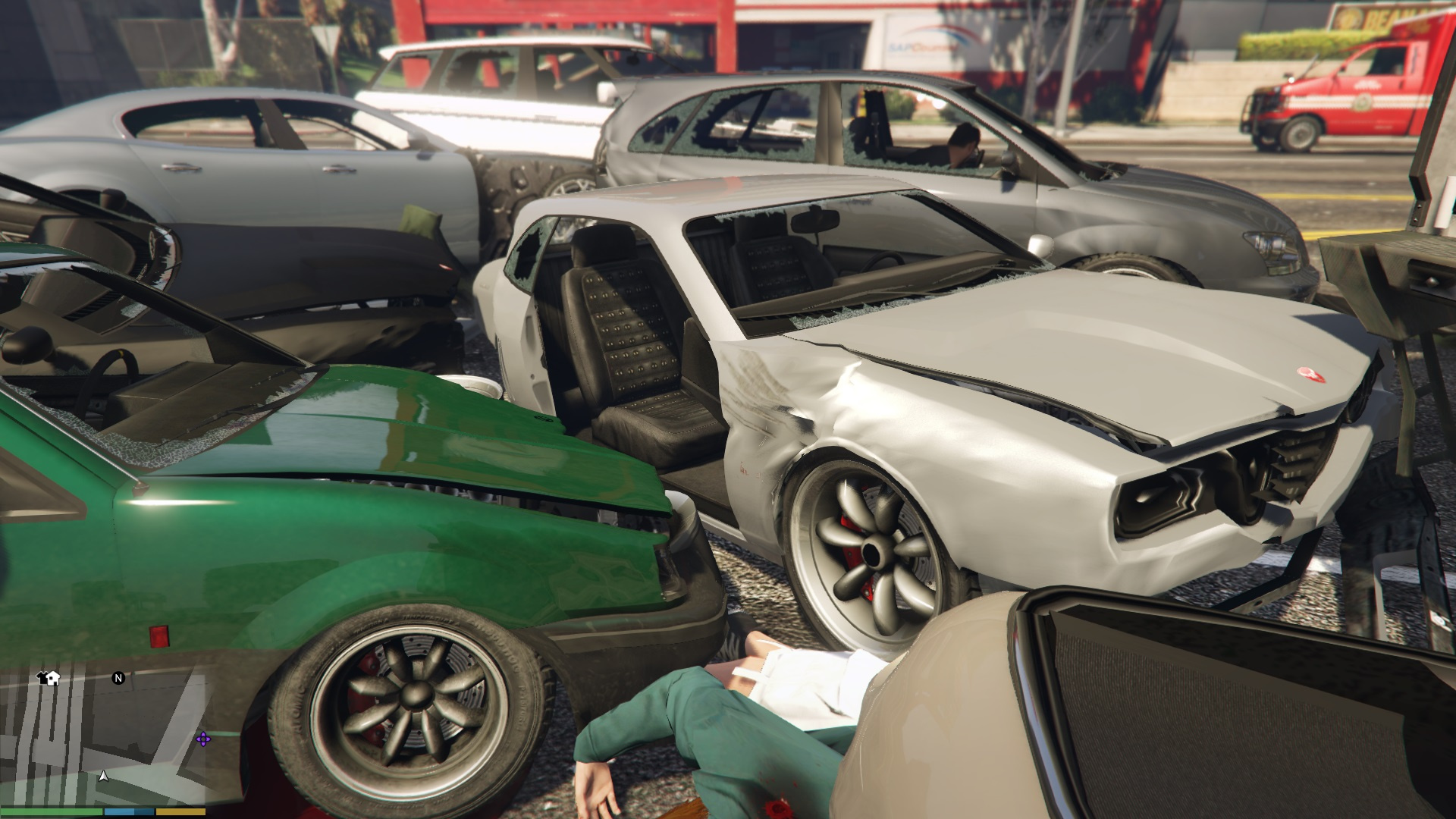how to explain vehicle damage
