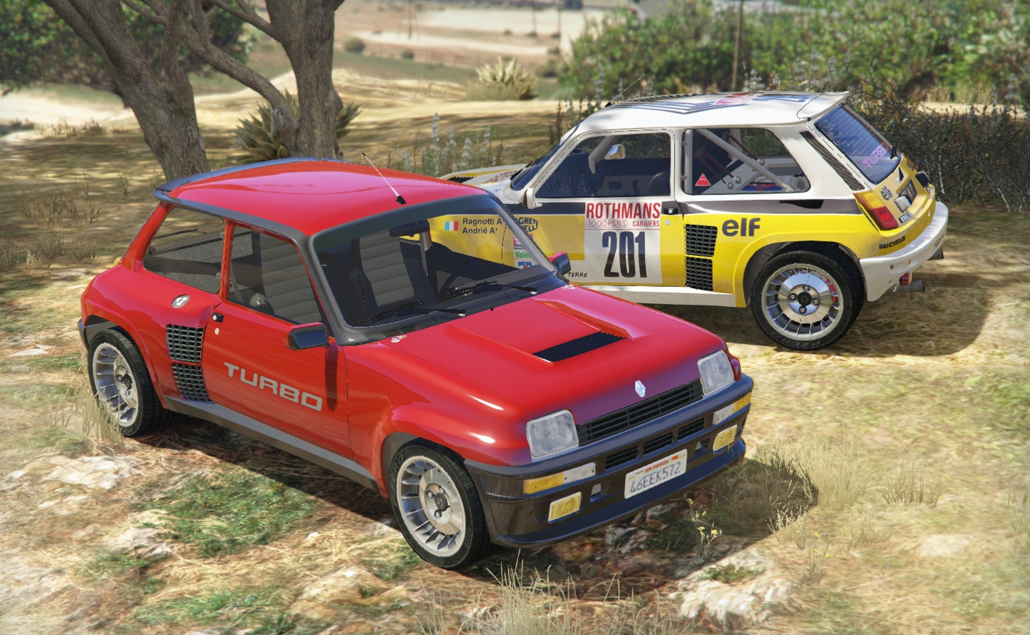 renault 5 turbo add on replace tuning livery gta5. Black Bedroom Furniture Sets. Home Design Ideas