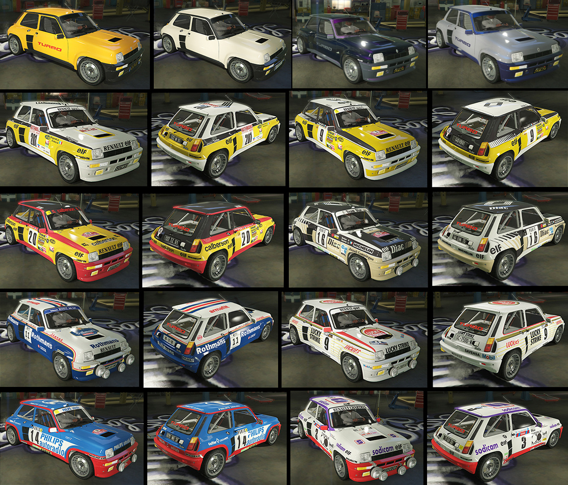 Renault R5 Turbo: Renault 5 Turbo [Add-On / Replace