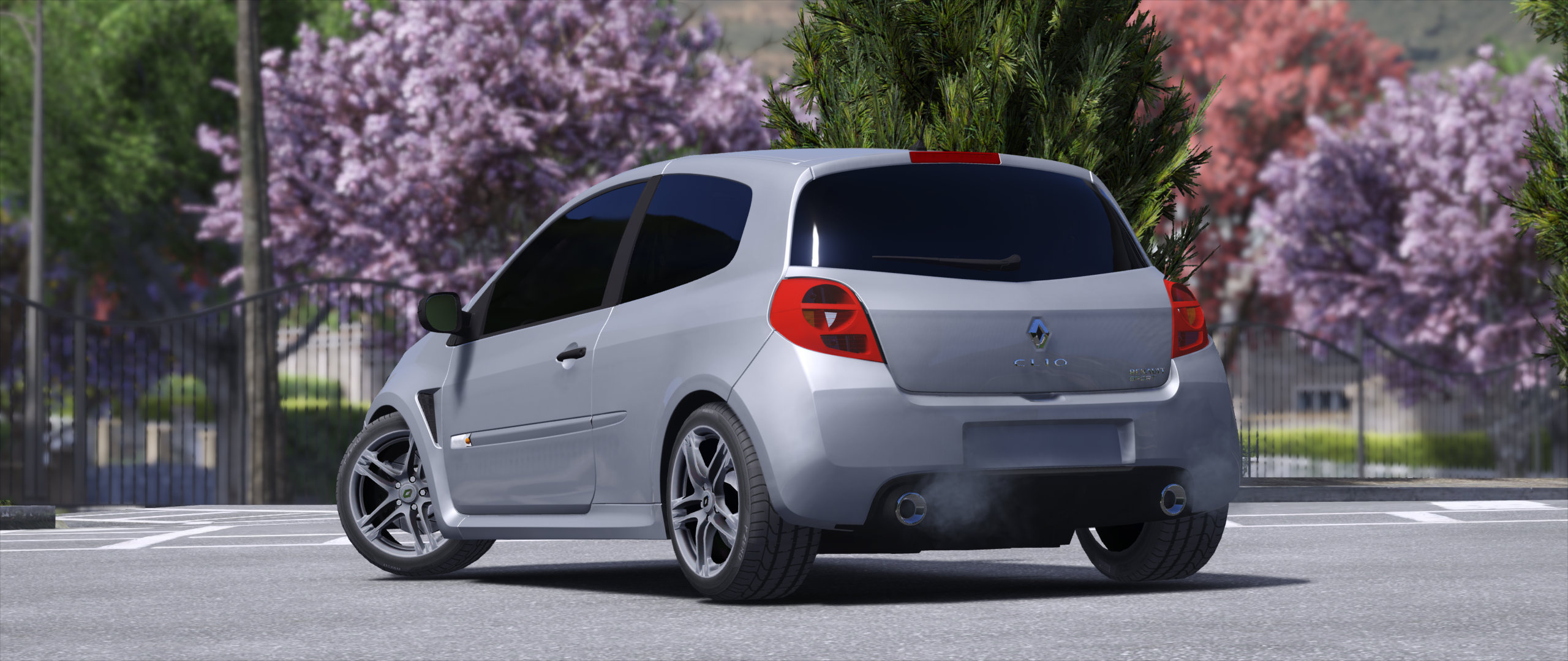 renault clio 3 rs 2010 replace gta5. Black Bedroom Furniture Sets. Home Design Ideas