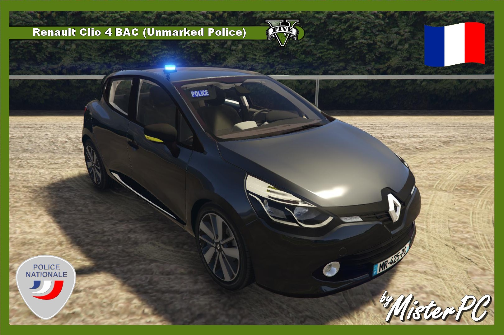 renault clio 4 bac unmarked police gta5. Black Bedroom Furniture Sets. Home Design Ideas