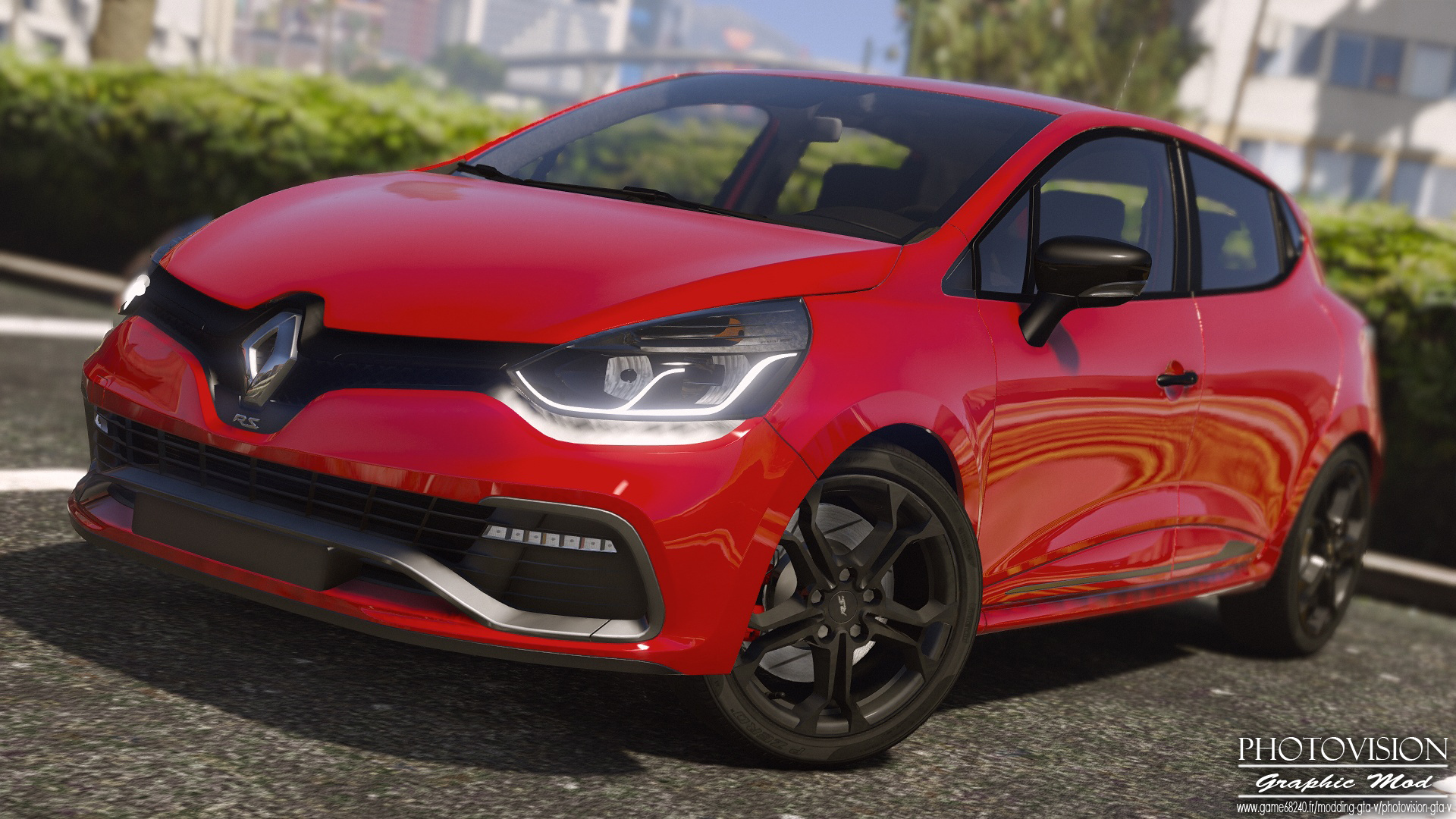 renault clio iv rs 2013 add on replace tuning template gta5