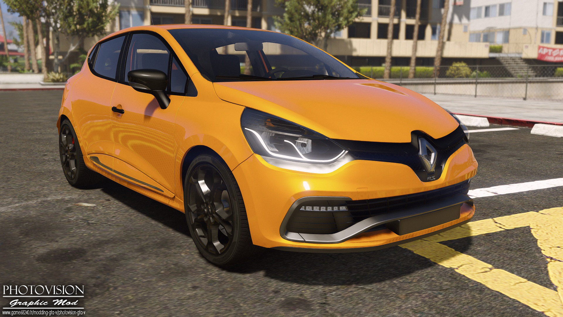 renault clio iv rs 2013 add on replace tuning template gta5. Black Bedroom Furniture Sets. Home Design Ideas