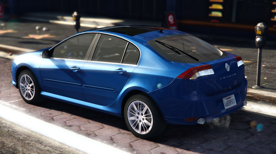 renault laguna iii 1 gt add on extras tuning gta5. Black Bedroom Furniture Sets. Home Design Ideas