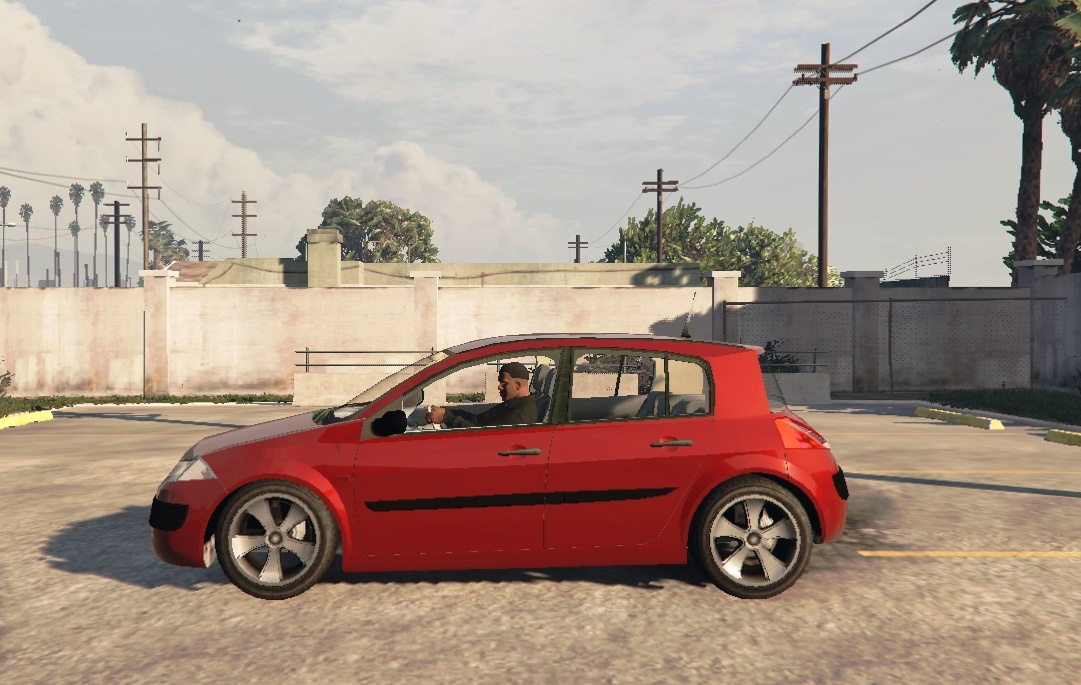 renault megane 2 hatchback gta5. Black Bedroom Furniture Sets. Home Design Ideas