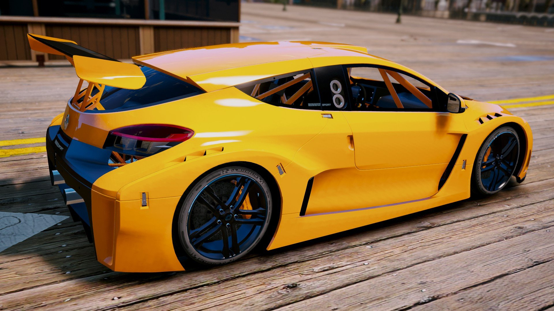 Renault Megane Trophy Add On Gta5 Mods Com