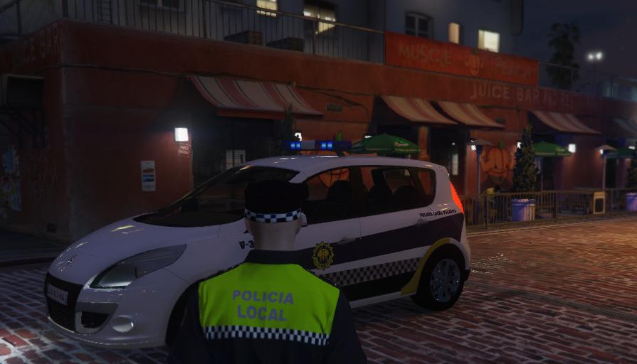 Renault Scenic 3 Policia Local Valencia Els Gta5 Mods Com