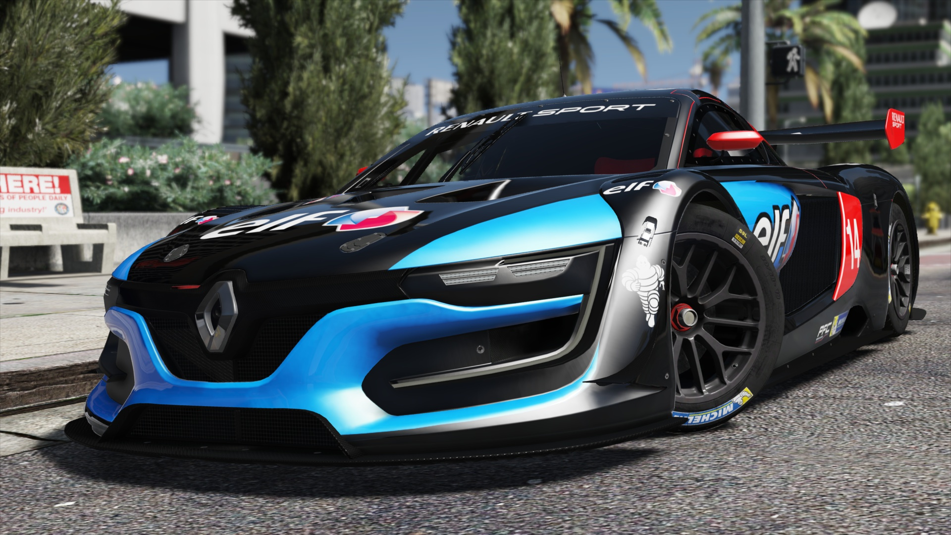 Renault Sport Rs Add On Replace Multi Livery Template Gta5
