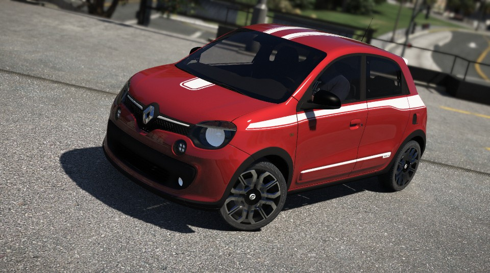 renault twingo gt 2017 add on gta5. Black Bedroom Furniture Sets. Home Design Ideas