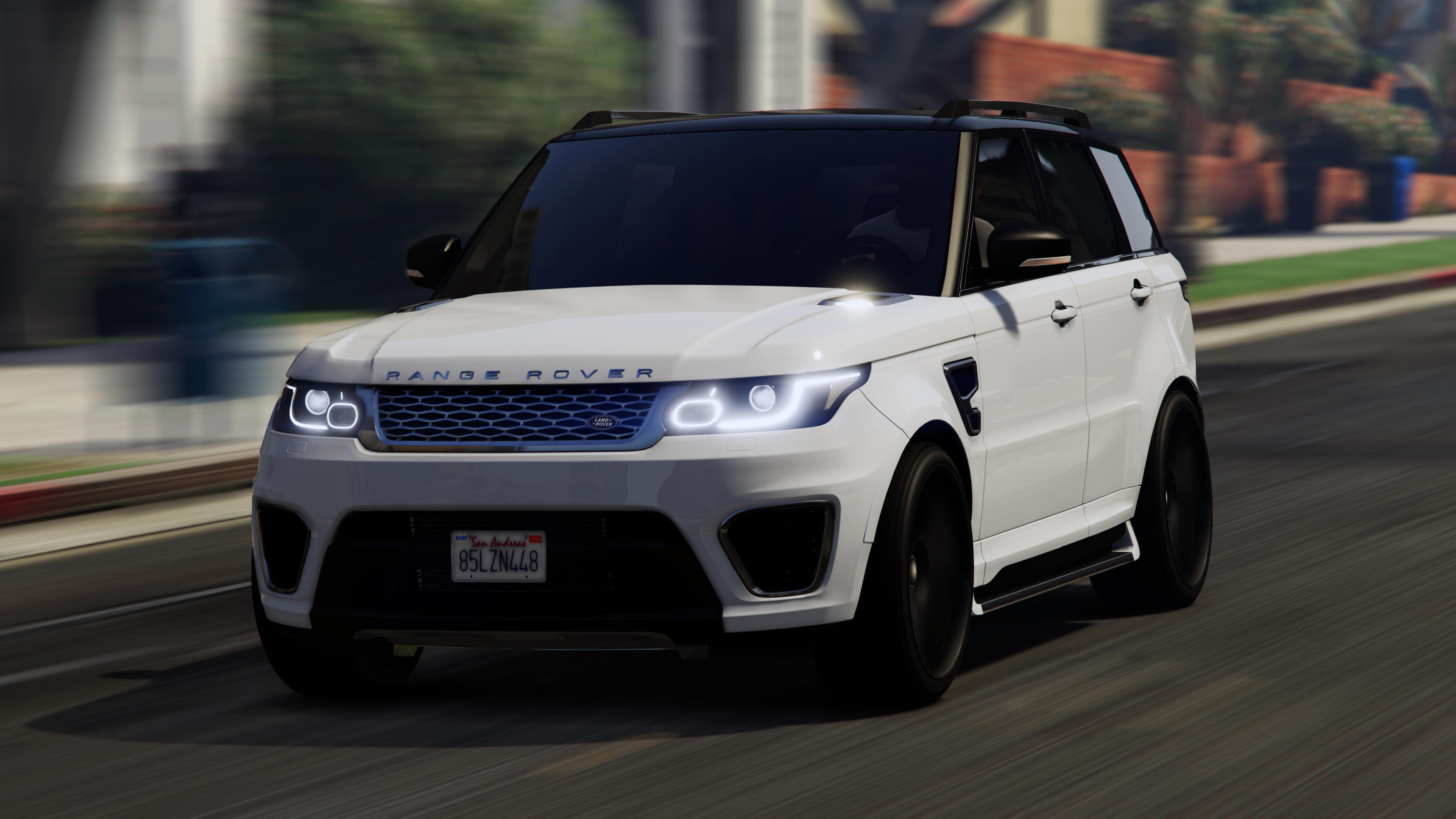 Range Rover Sport Replace Lods Gta5 Mods Com