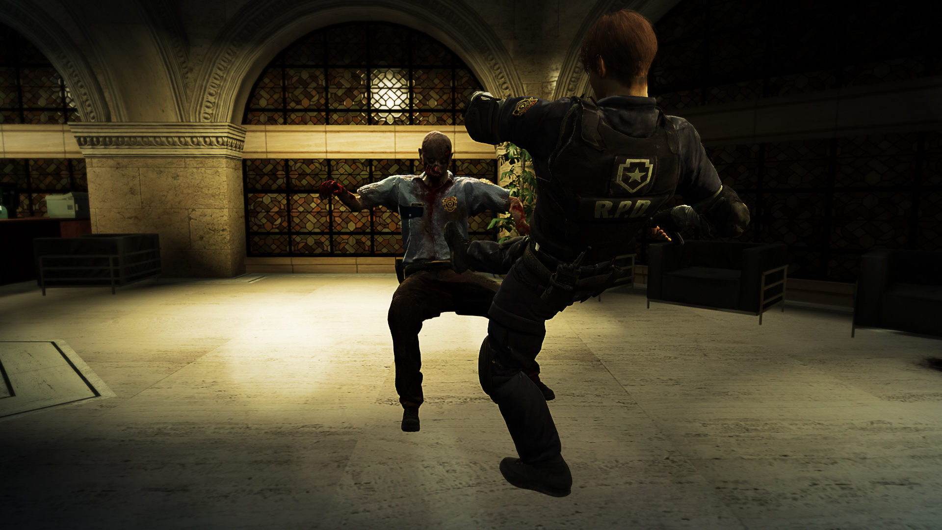 Resident Evil 2 Leon Kennedy Remake - GTA5-Mods com