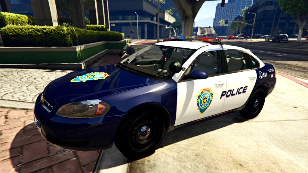 Resident Evil Series: Raccoon Police 2014 Chevy Impala ...