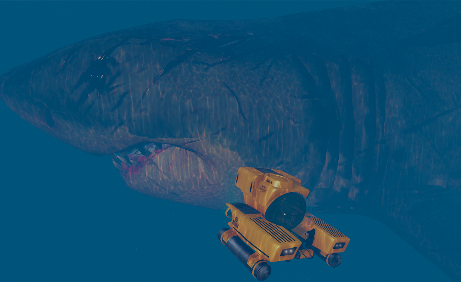 resized megalodon shark meg monster of the depth gta5 mods com