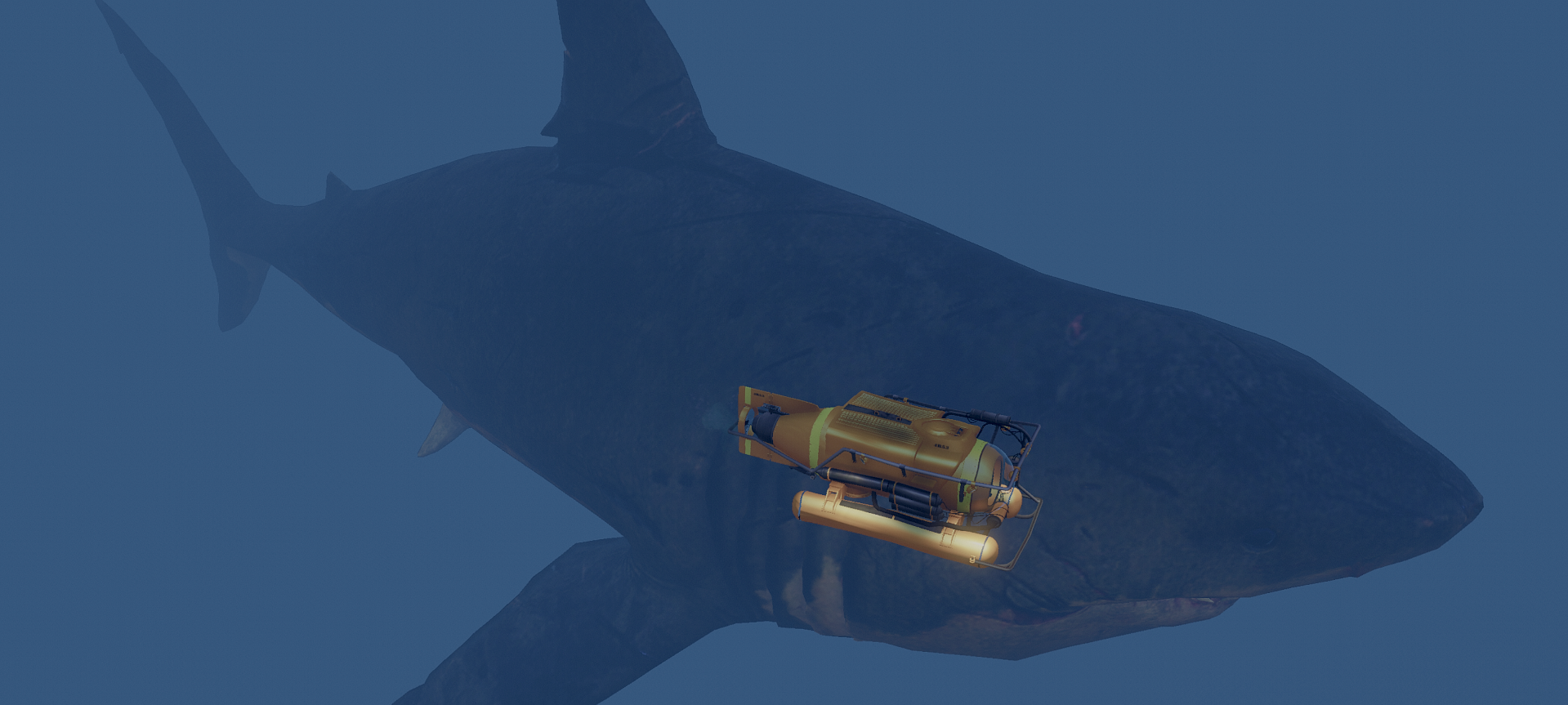 Resized Megalodon Shark [MEG: Monster of the Depth] - GTA5-Mods com