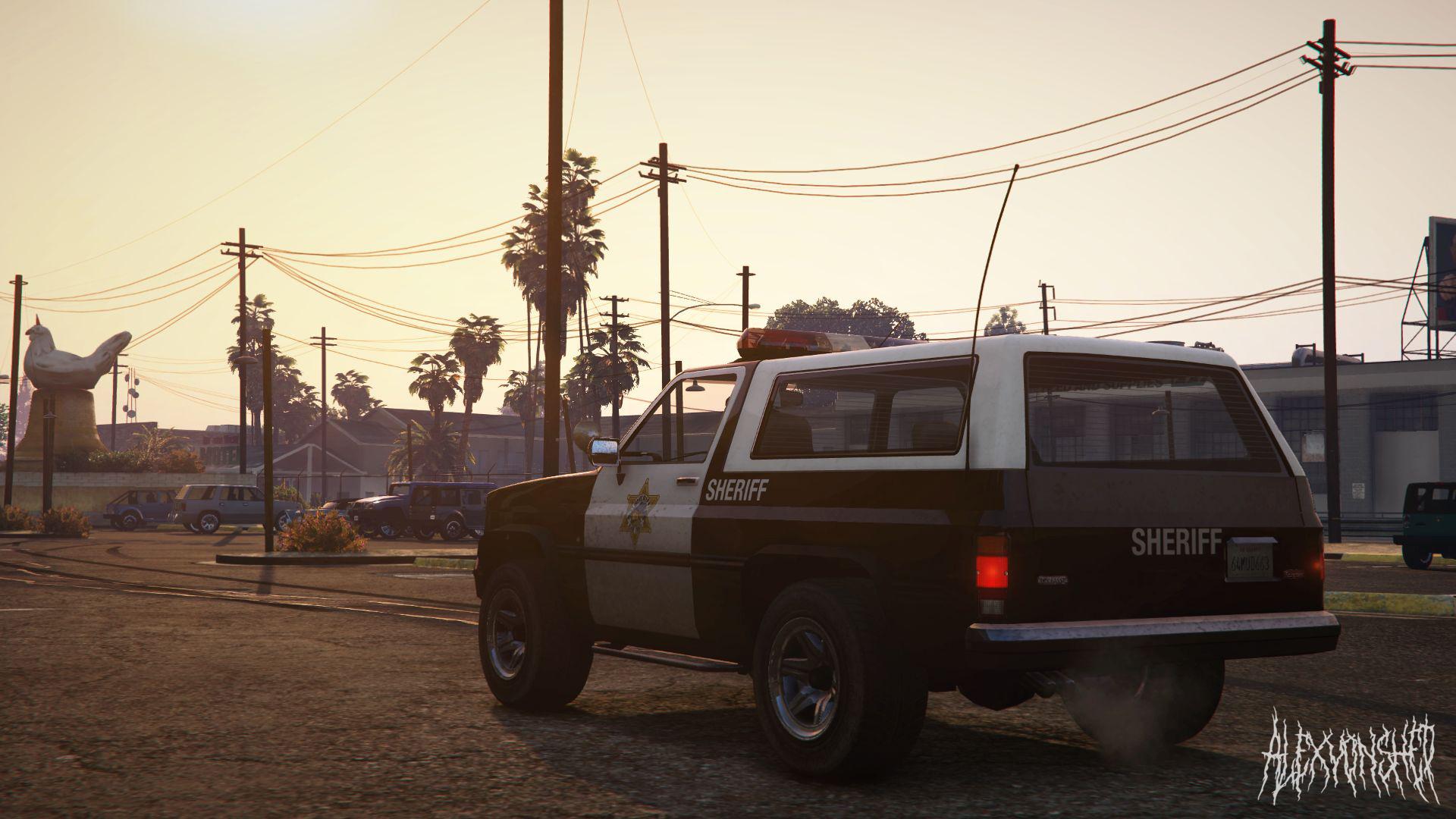 Retro Blaine County Sheriff [Rural Style] - GTA5-Mods com
