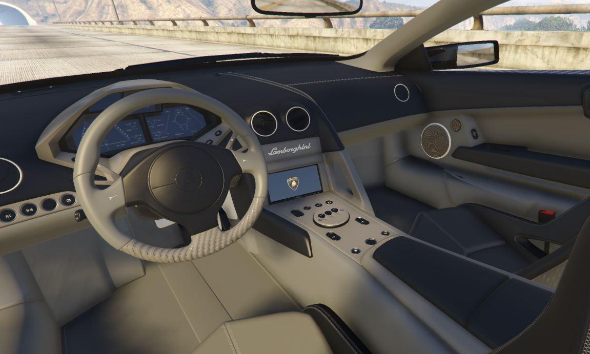 Lamborghini Reventon Enhancement Pack Handling Livery Interior