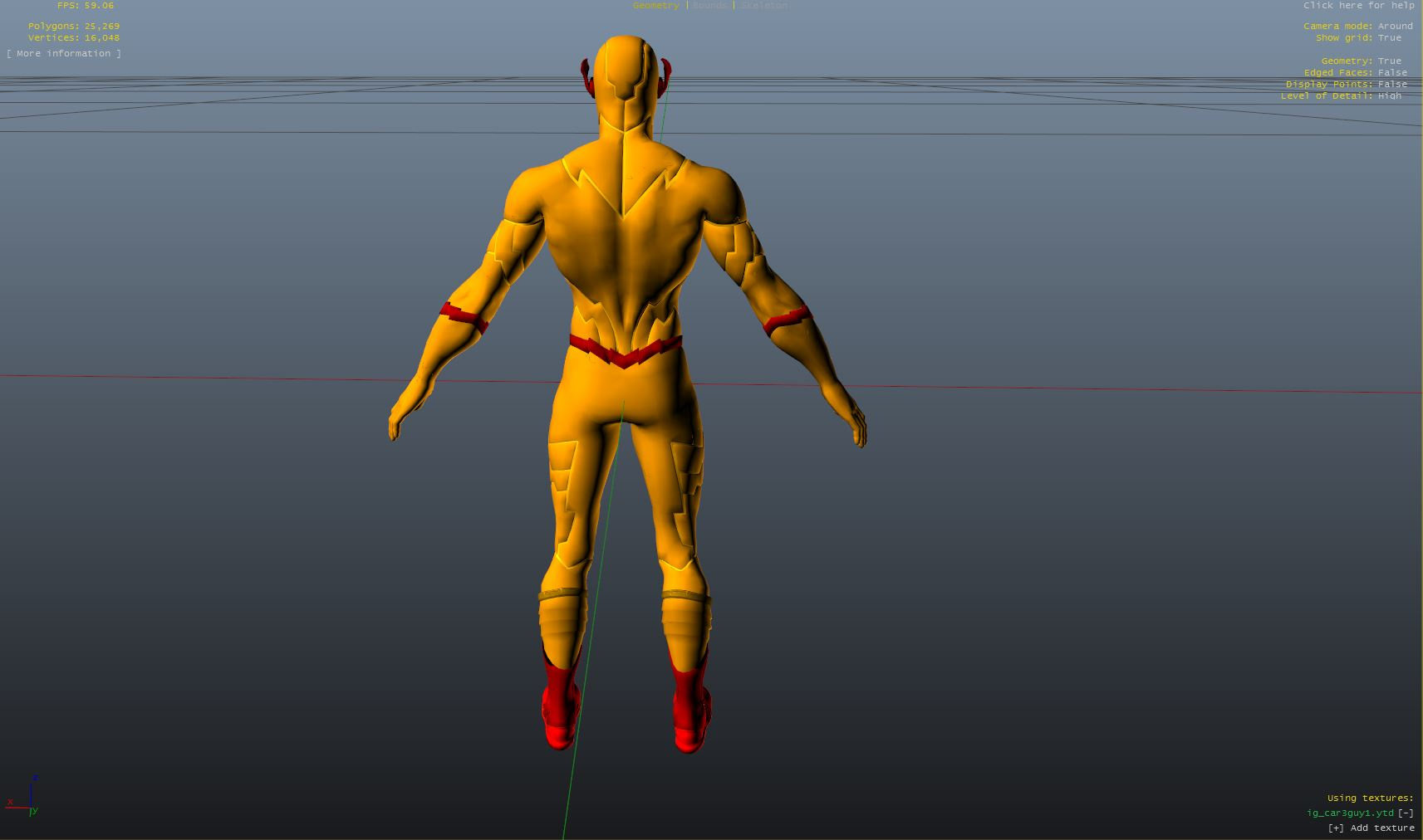reverse flash flash point animated movie addon ped