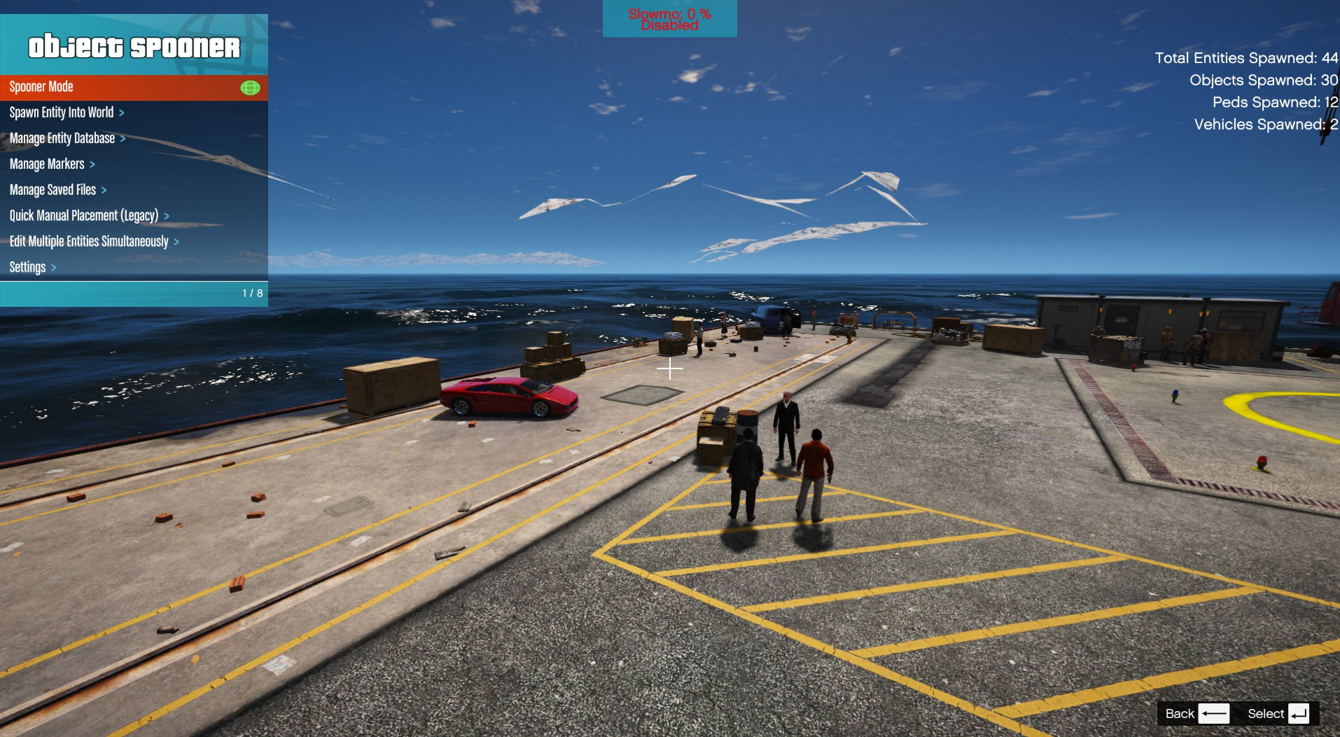reverse flash saves Damien Darhk (menyoo) - GTA5-Mods com